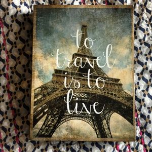 """To Travel is to Live"""